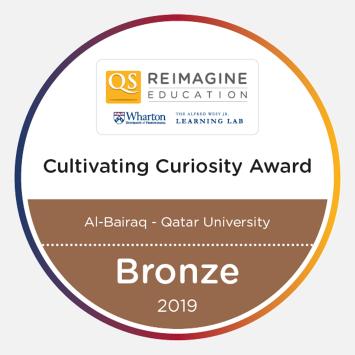 Cultivating Curiosity Award 2019