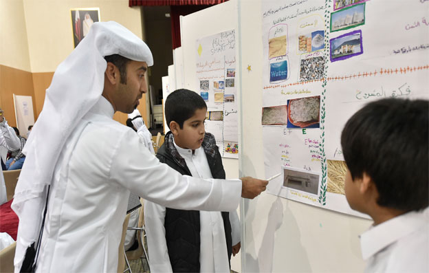 QU Al-Bairaq hosts judgment ceremonies to assess the projects of the 4th cycle