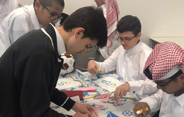Al-Bairaq collaborates with the Ministry of Education and Higher Education to offer workshops to QSTEAM competition students