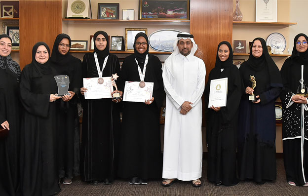 Students that won in the National Scientific Research Competition (NSRC) Honored