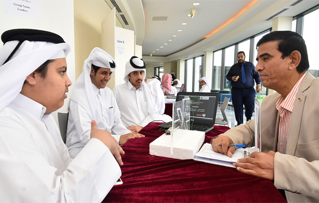 Qatar University's Al-Bairaq program hosts a closing ceremony