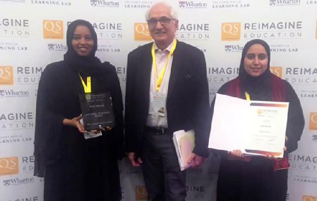 Qatar University Wins Gold and Silver in Reimagine Education 2019