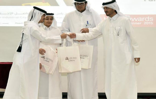Students in QU Al Bairaq program present 29 scientific projects