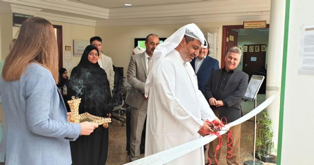 FP Director Dr. Hezam Al-Awah was present to open the exhibition