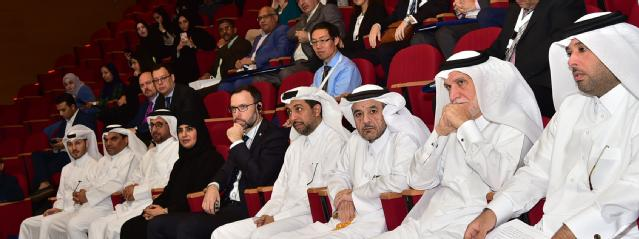A number of senior officials in QU attended the conference