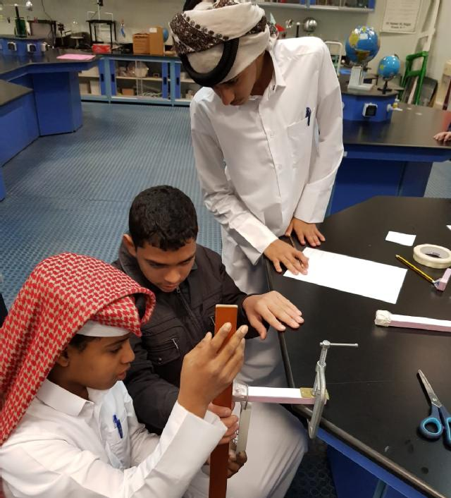 Thirteen schools from Alshamal district will participate in this cycle