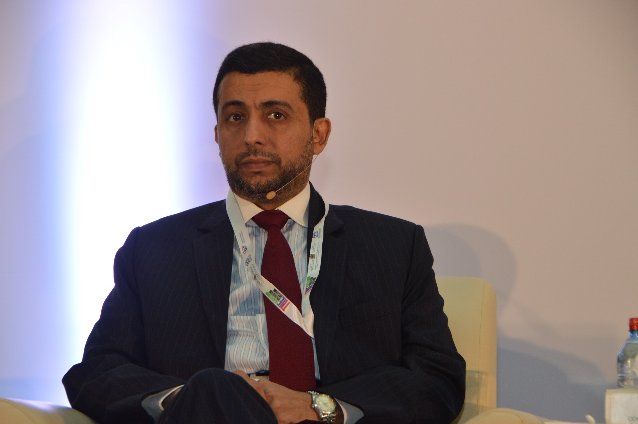 Dr. Hassan Al Derham at THE'S fourth Emerging Economies Summit which took place in Morocco