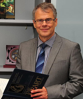 Dr. Egon Toft, Vice President for Medical and Health Sciences and Dean of the College of Medicine at Qatar University