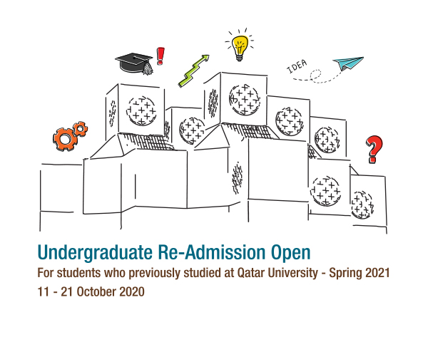 Undergraduate Re-Admission Open