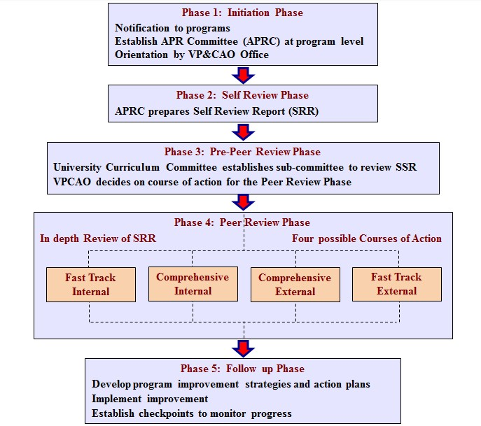 review process flowchart