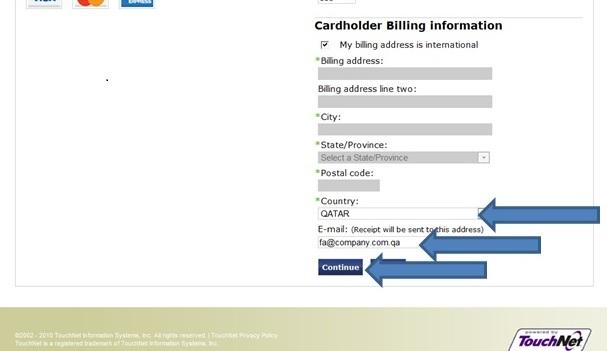 Payment Guideline   Qatar University
