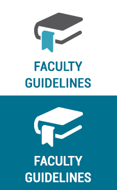 faculty guidelines