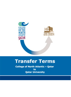 Transfer Terms from CNA-Q to Qatar University